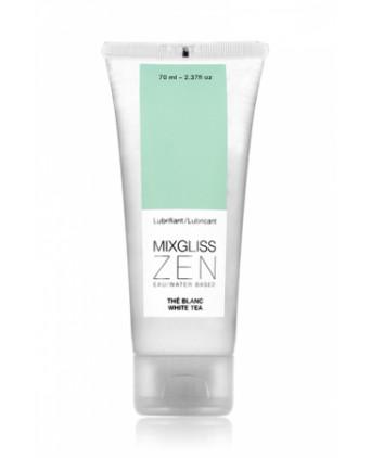 Mixgliss eau - Zen Thé blanc 70ml - Lubrifiants base eau
