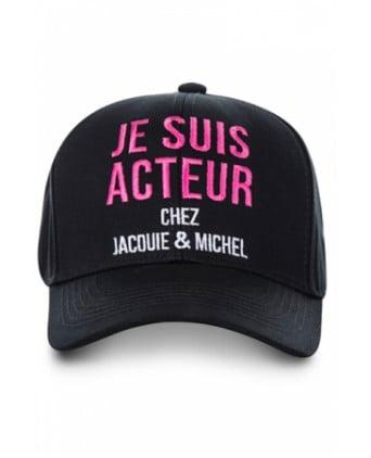 Casquette Jacquie et Michel Acteur - noir - Bobs et Casquettes
