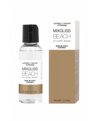 Mixgliss silicone - Noix de coco - 50ml - Lubrifiants silicone