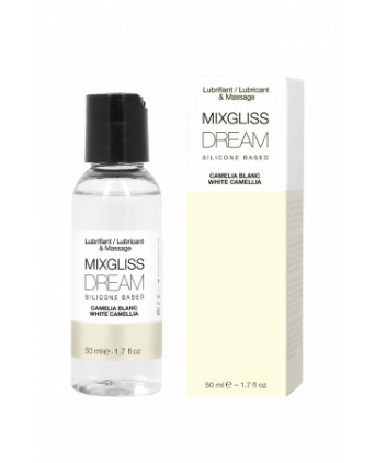 Mixgliss silicone - Camelia blanc - 50ml - Lubrifiants silicone