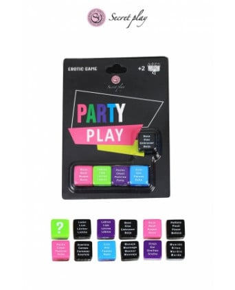 Jeu 5 dés Party Play - Jeux coquins