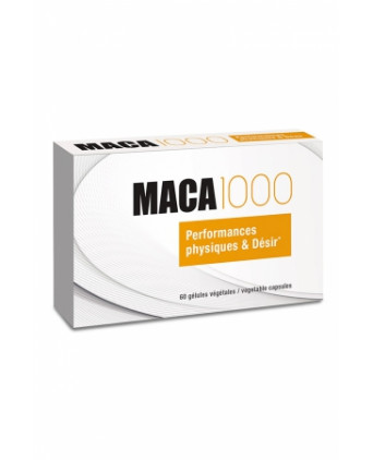Maca 1000 (60 gélules) - Aphrodisiaques couple