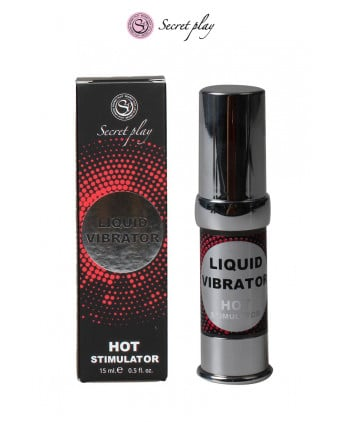 Liquid Vibrator Effet chaud - 15 ml - Aphrodisiaques couple