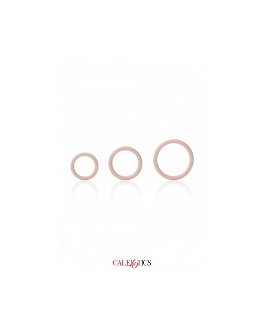 Pack 3 anneaux Silicone - Calexotics - Anneaux péniens