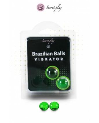 2 Brazillian balls effet vibrator - Massages érotiques