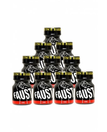 Pack 10 poppers Faust 9 ml - Poppers
