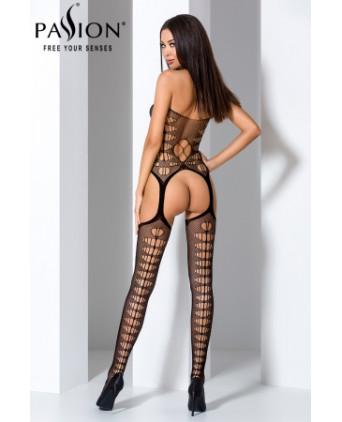Combinaison BS059 - Noir - Lingerie femme