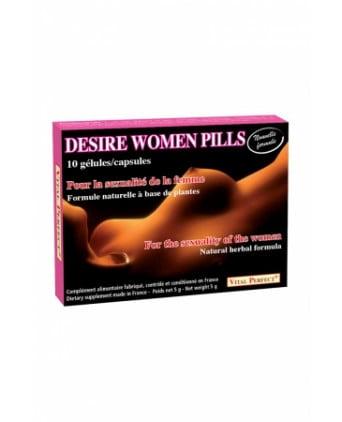 Desire Women Pills (10 gélules) - Aphrodisiaques femme