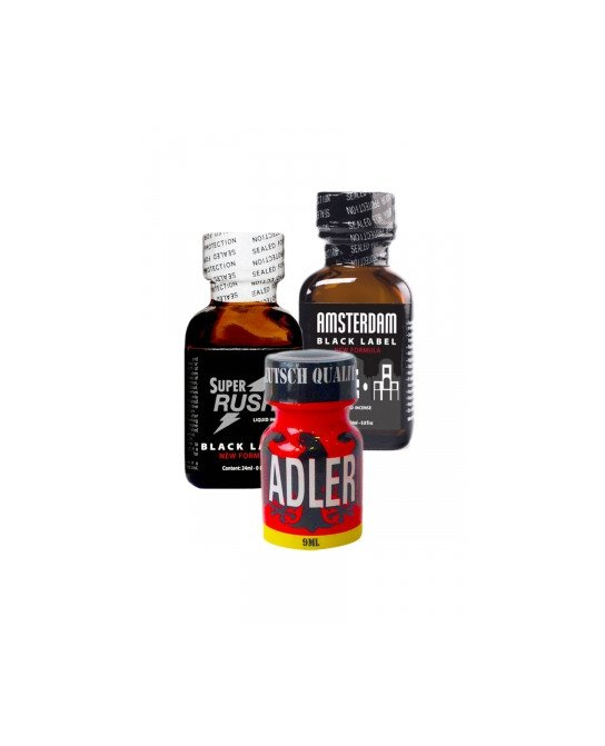 Pack Expert 3 poppers - Stimulants H/F