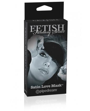 Bandeau Fetish SM en satin - Cagoules, masques