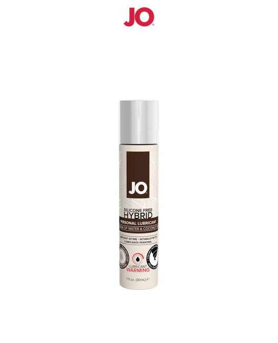 Lubrifiant hybride sans silicone effet chaud 30 ml - Lubrifiants base eau
