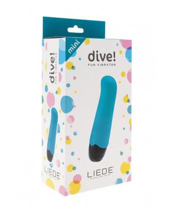 Mini vibromasseur Dive! - bleu - Stimulation point G
