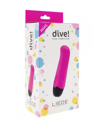 Mini vibromasseur Dive! - rose - Stimulation point G