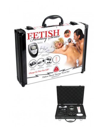 Kit d'électrostimulation Deluxe Shock therapy - Électro-stimulation