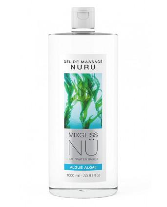 Gel massage Nuru Algue Mixgliss - 1 litre - Lubrifiants base eau