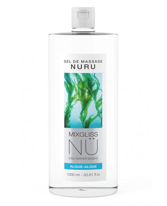 Gel massage Nuru Algue Mixgliss - 1 litre - Lubrifiants intimes