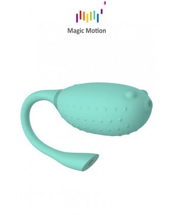 Oeuf vibrant connecté Magic Fugu (vert) - Magic Motion - Sextoys femme
