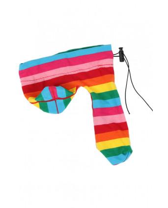 Cache-sexe multicolore - Prêt à porter