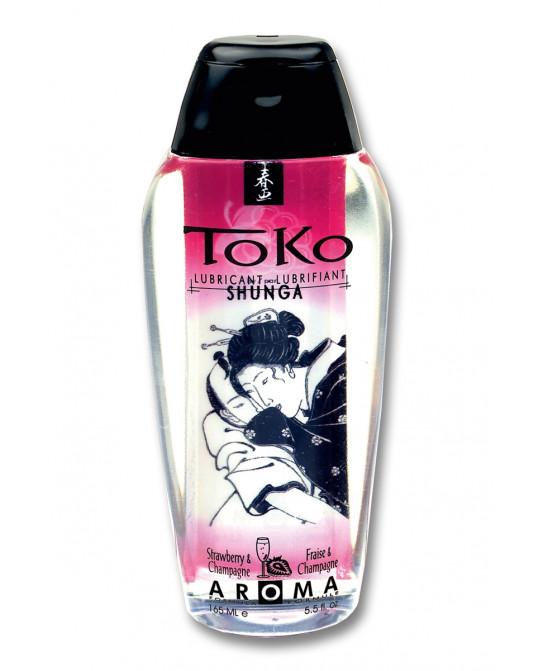 Lubrifiant Toko Aroma - vin pétillant et fraise - Lubrifiants base eau