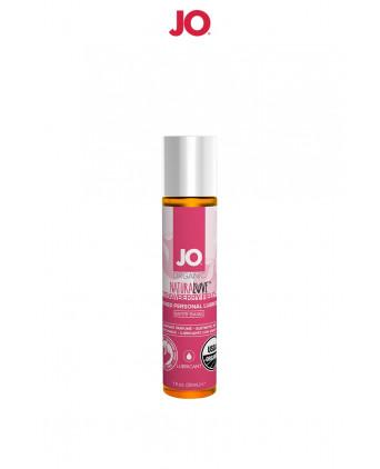 Lubrifiant BIO fraise des champs 30 ml - Lubrifiants intimes