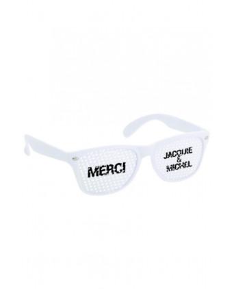 Lunettes Jacquie et Michel - Blanc blanc  - Lunettes
