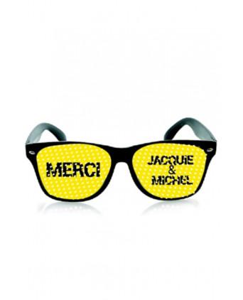 Lunettes Jacquie et Michel - noir jaune - Lunettes