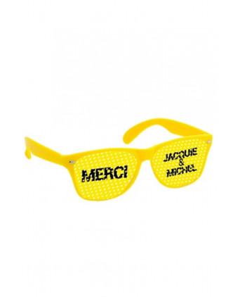 Lunettes jaune jaune - Jacquie & Michel - Plein air