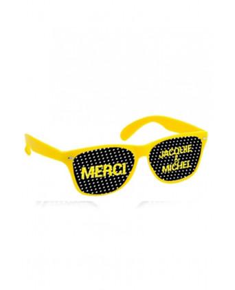 Lunettes jaune noir - Jacquie & Michel - Plein air