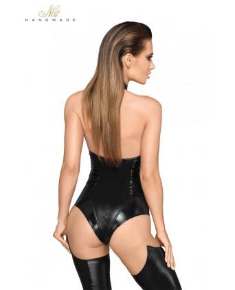 Body faux cuir et wetlook F198 - Lingerie vinyle femme