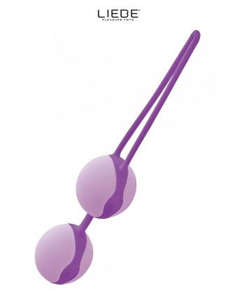 Love balls violet et mauve - Liebe - Sextoys femme