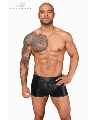Short wetlook et filet H058 - Prêt à porter