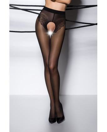 Collants ouverts TI006 - noir - Collants, bas