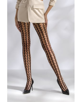 Collants résille TI048 - noir - Collants, bas