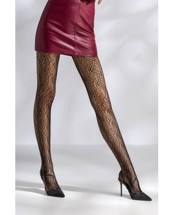 Collants résille TI049 - noir - Collants, bas
