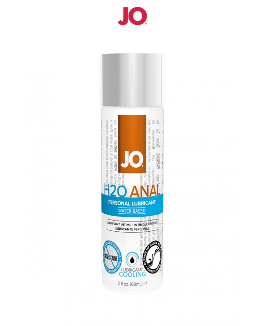 Lubrifiant anal effet frais 60 ml - Lubrifiants anal