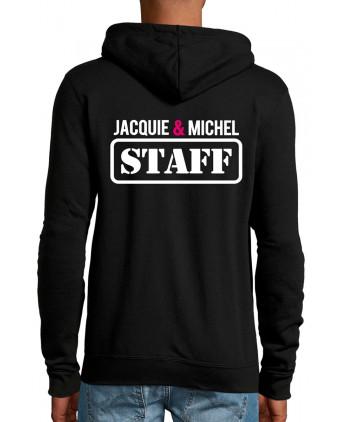 Veste à capuche Jacquie & Michel Staff - Sweats J&M