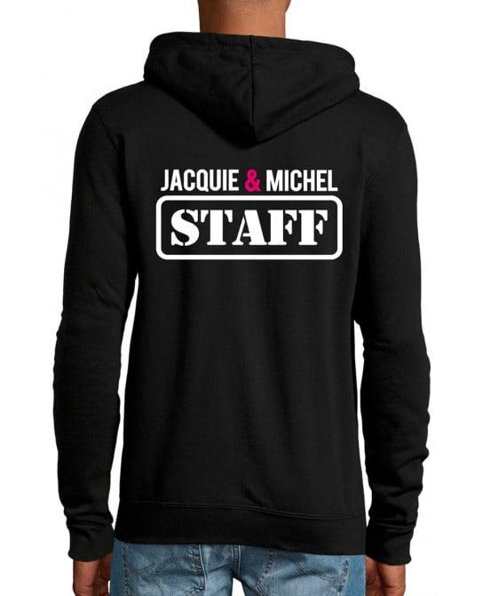 Veste à capuche Jacquie et Michel Staff - Vestes Homme