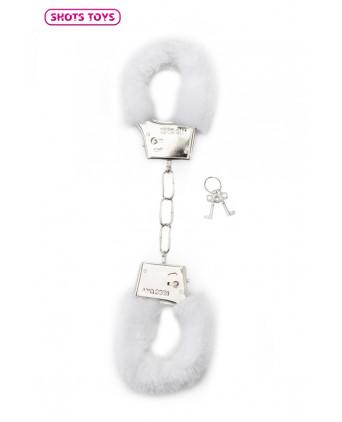Menottes fourrure Shots - blanc - Menottes et bracelets