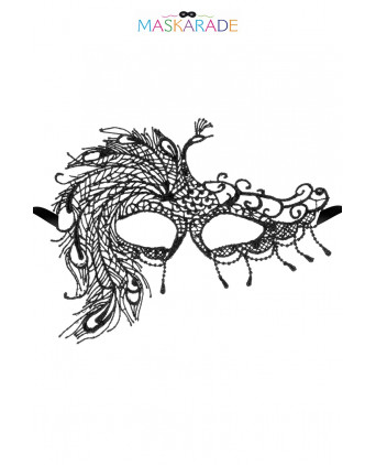 Loup broderie souple Fair Lady - Cagoules, masques