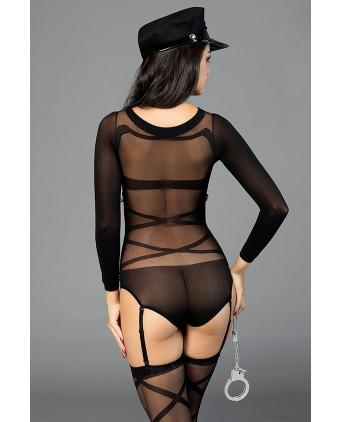 Déguisement sexy policière - Lingerie femme