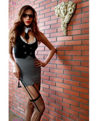 Déguisement sexy maitresse d'école - Busyx Femmes