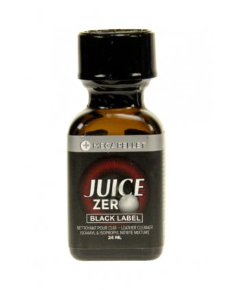 Poppers Juice Zero Black Label 24 ml - Poppers