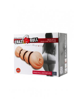 Vagin réaliste de poche - Crazy Bull - Sextoys