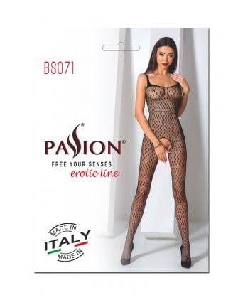 Combinaison BS071 - Noir - Lingerie femme