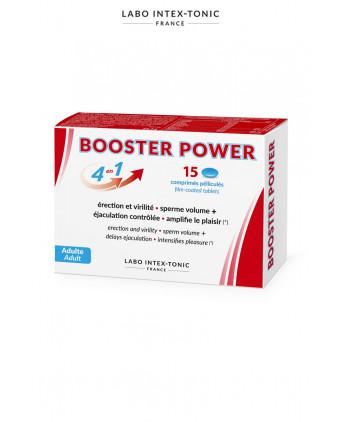 Aphrodisiaque masculin Booster Power (15 comprimés) - Aphrodisiaques homme