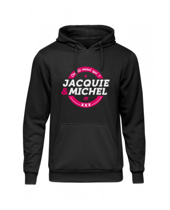 Sweat à capuche J&M logo rond - Sweats J&M