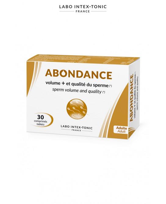 Abondance - Amélioration du sperme (30 comprimés) - Aphrodisiaques homme