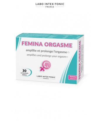 Femina Orgasme -Amplificateur d'orgasme (30 comprimés) - Aphrodisiaques femme