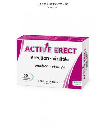 Active Erect - Activateur érection (30 comprimés) - Aphrodisiaques homme