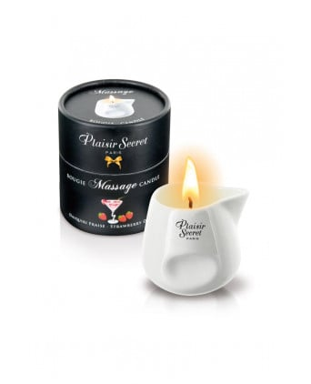 Bougie de massage - Daiquiri fraise - Massages érotiques
